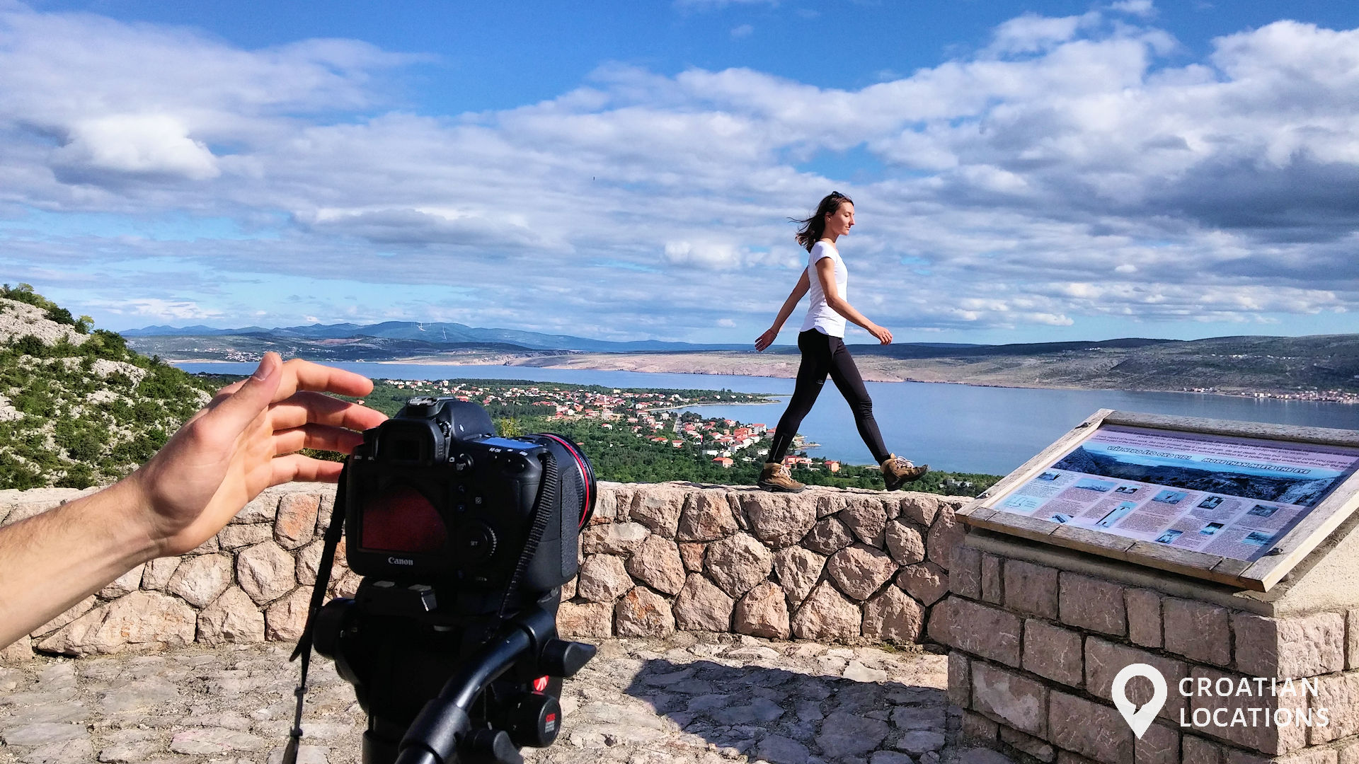 The Croatian Locations production services team enjoys scouting and filming in the great outdoors