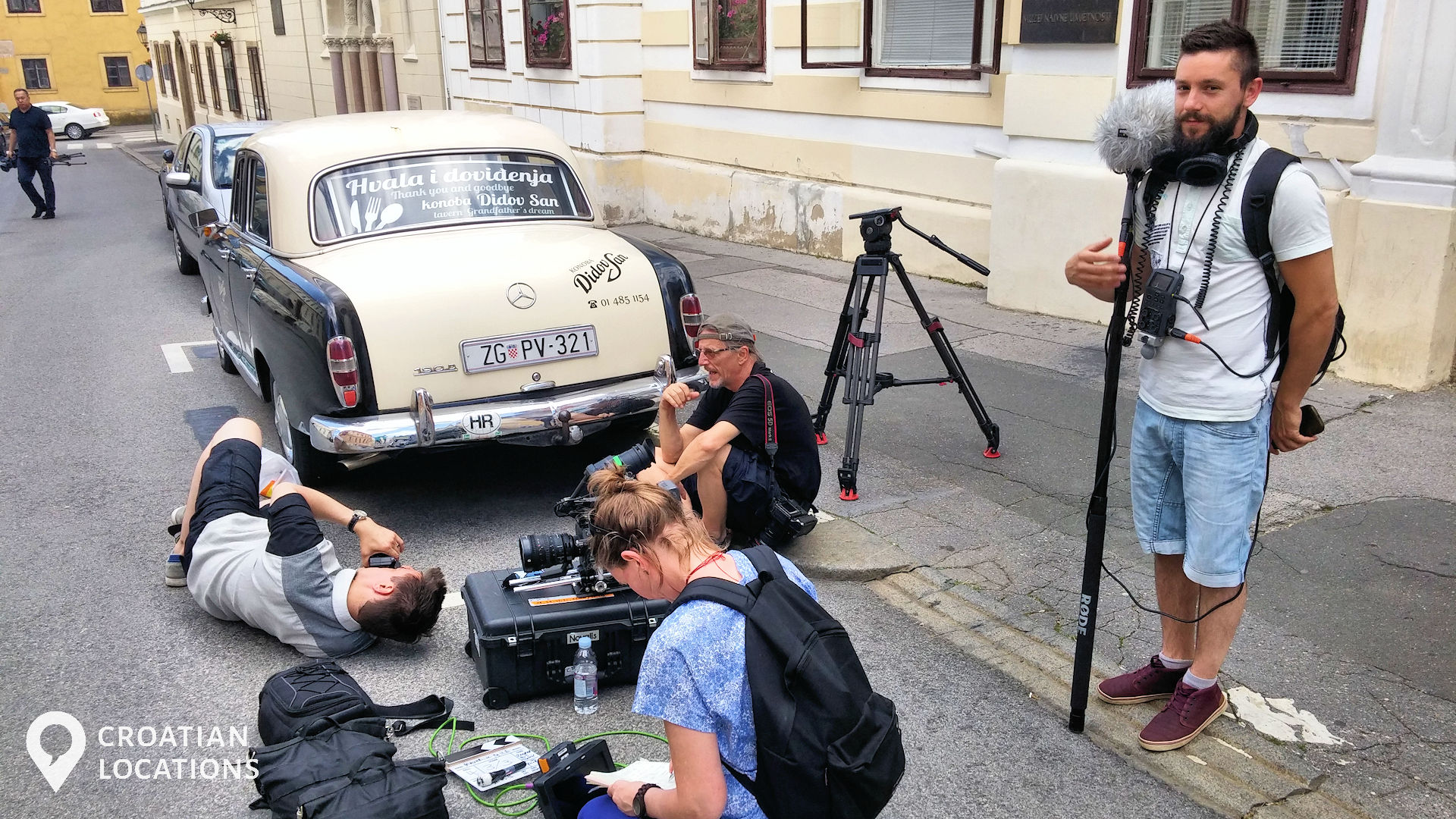 Corporate filming in Zagreb, Croatia