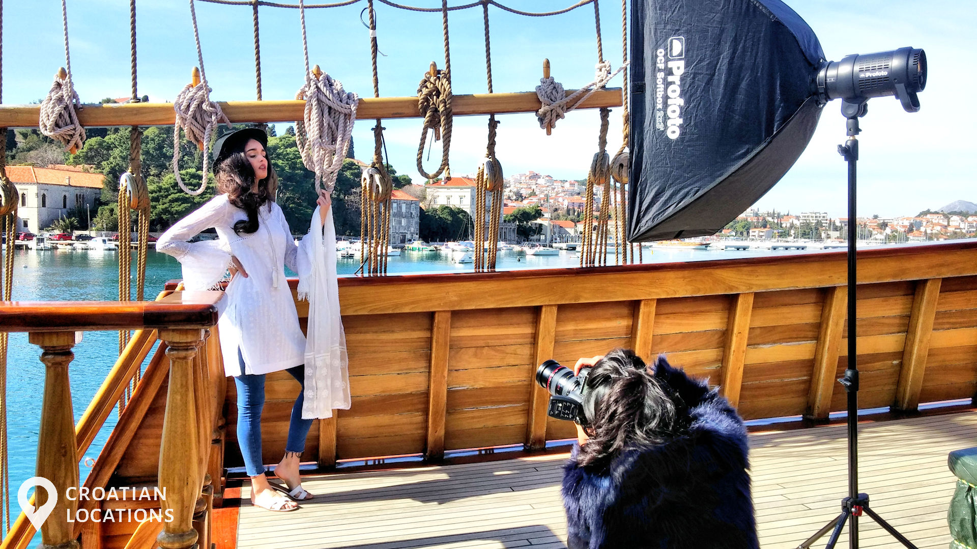 The Croatian Locations team will provide everything you need for your photo shoot in Croatia